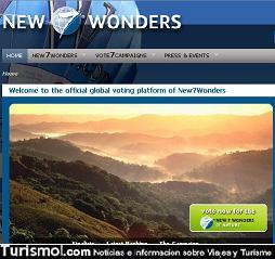 Siete Nuevas Maravillas Naturales –New7Wonders- 2009: Cinco sitios latinoamericanos entre los 28 finalistas 1