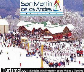 San Martín de los Andes, Argentina: Miles de turistas y nevadas intensas para disfrutar de los deportes invernales 1