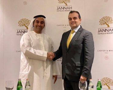 Jannah Hotels firma una nueva asociación entre Carter y White | Noticias 1