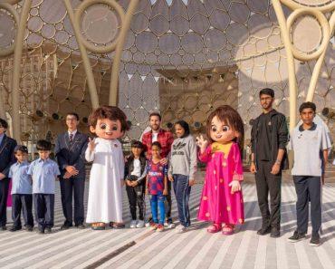 Messi saluda a los niños de los EAU en la Expo 2020   Noticias 6