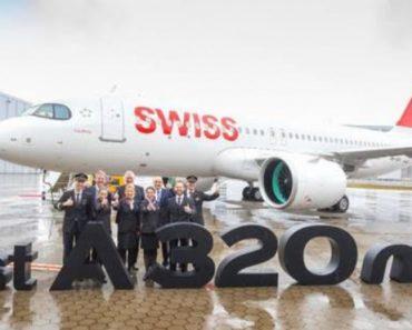 Swiss recibe el primer A320neo | Noticias 3