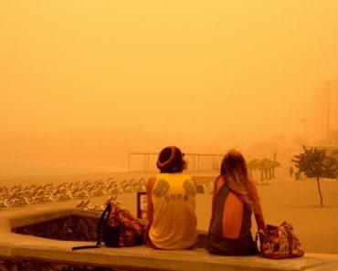 Vuelos a Canarias golpeados por tormenta de arena | Noticias 8