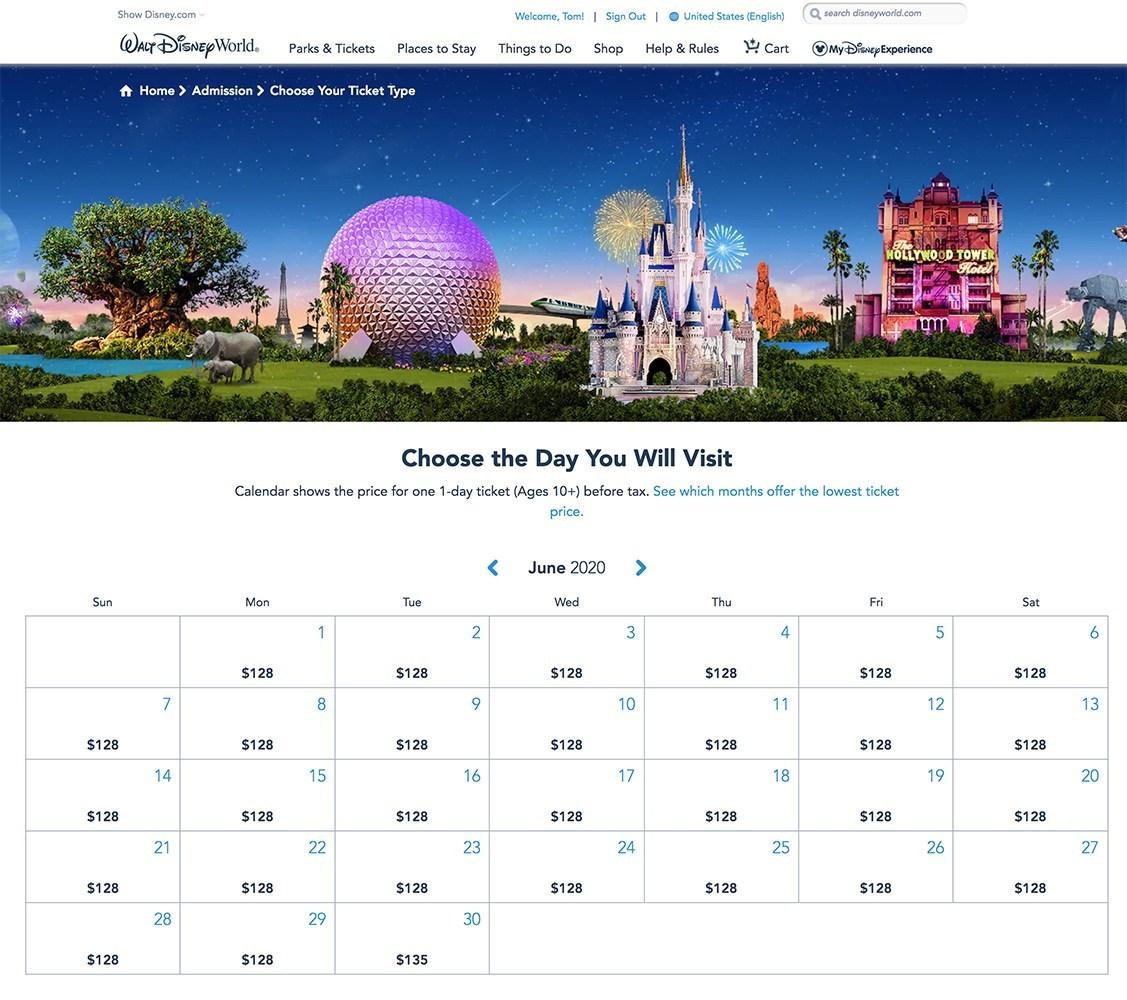 El verano no es temporada alta en Disney World. 5