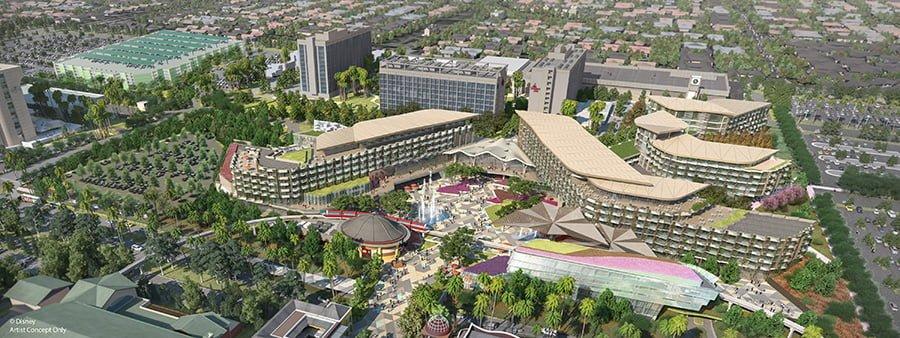 Nueva torre DVC en el hotel Disneyland 5
