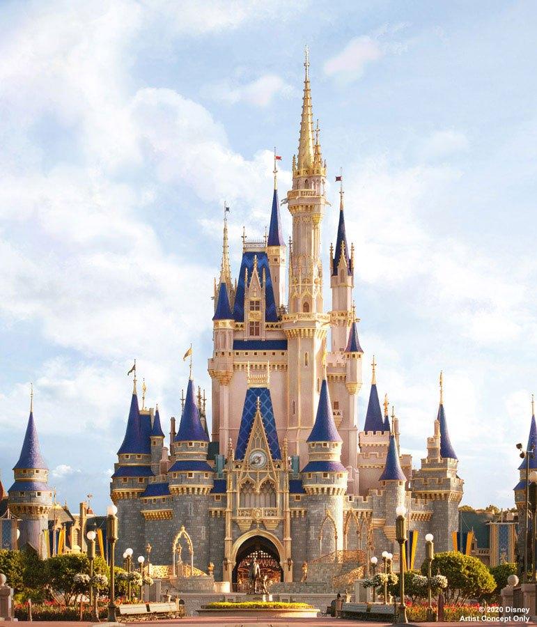 ¡Cambio de imagen real para el Castillo de Cenicienta en Disney World! 7