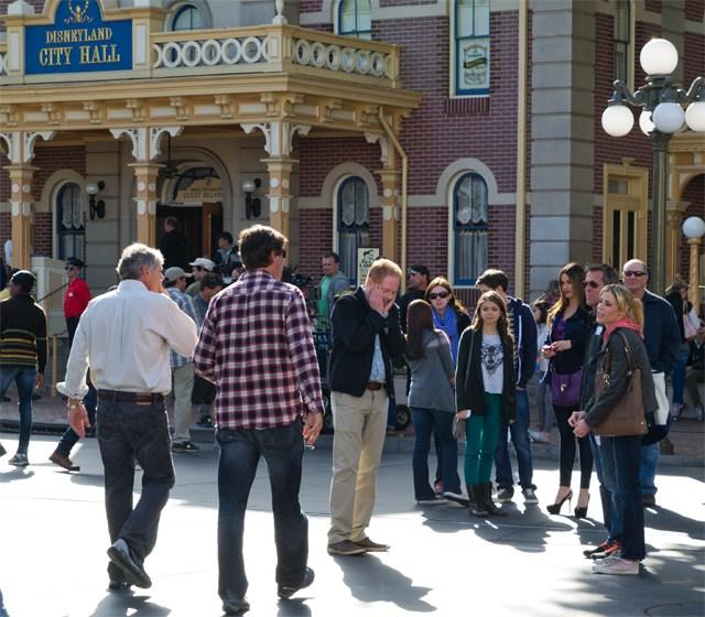 Filmación de Modern Family Disneyland