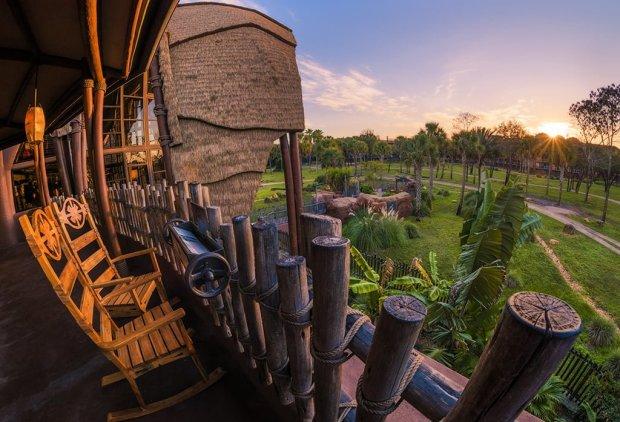kidani-village-animal-kingdom-lodge-sunrise-sunburst